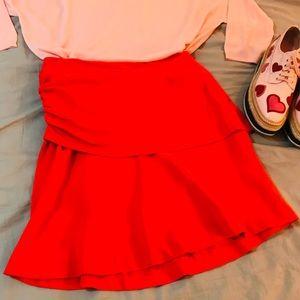2 FOR $30 🆕 Layered Mini Skirt. BNWT